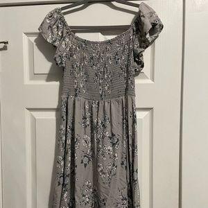 Gray Torrid dress!